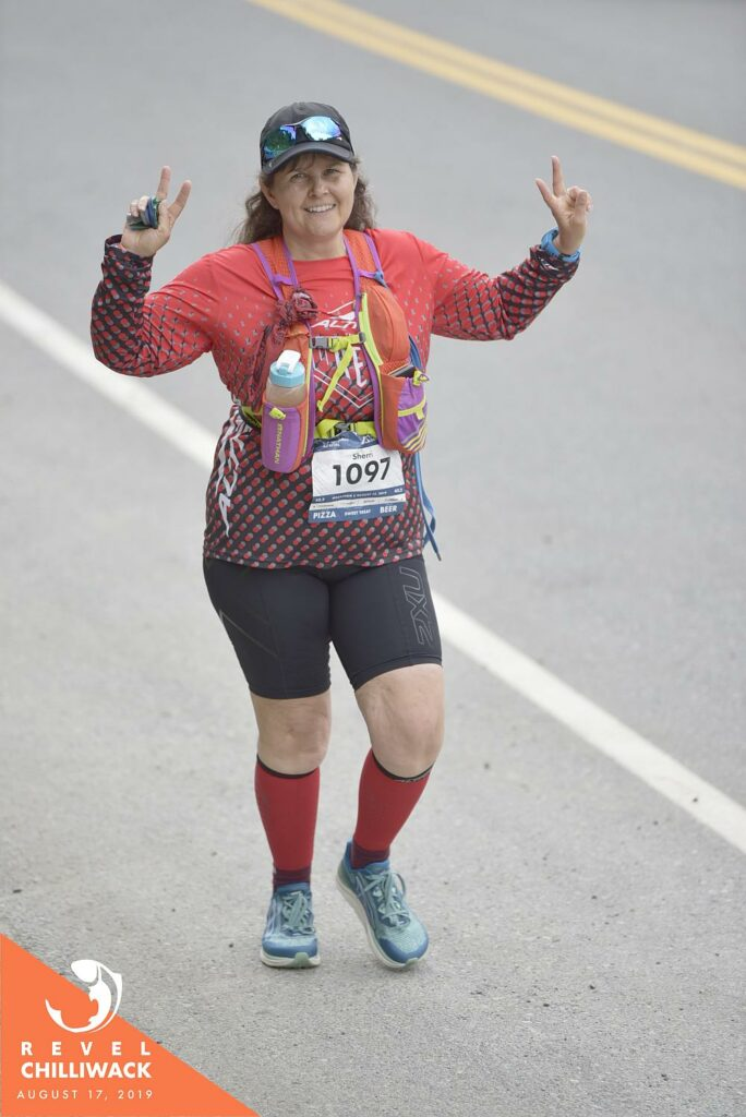 Digging deep Chilliwack Revel Marathon